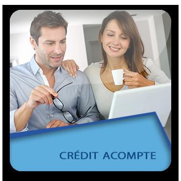 Crédit acompte