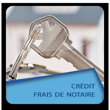 Crédit frais de notaire